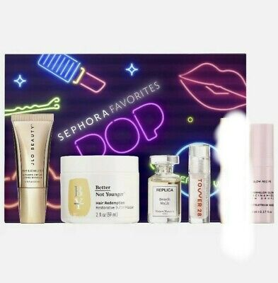Sephora Favorites Pop Big Beauty Vibes 2021 SOLD OUT BNIB 6 Minis NEW