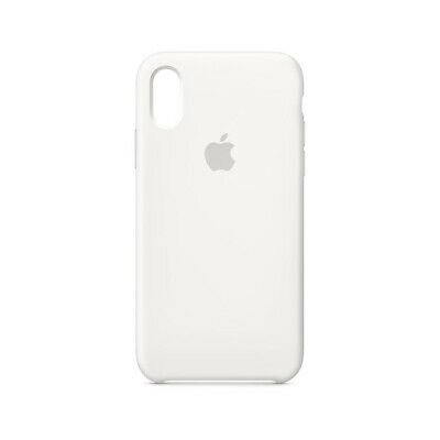 Apple Silicone Case for iPhone Xs - Product White