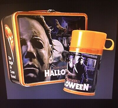 Fright Rags Michael Myers Halloween Lunchbox - Thermos Set OUT OF PRINT-NEW