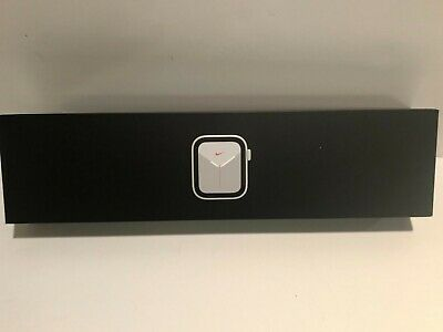 Apple Watch Series 5 44mm Nike GPS - Cellular Silver Aluminum Box BOX ONLY