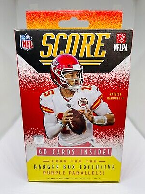 2021 Panini Score Football Hanger Box NFL 60 Trading Cards New Factory Sealed