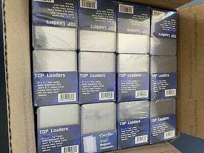 1000x Top Loaders 3x4 Pokémon Magic MTG Sports Yugio Priority Mail Ships Today