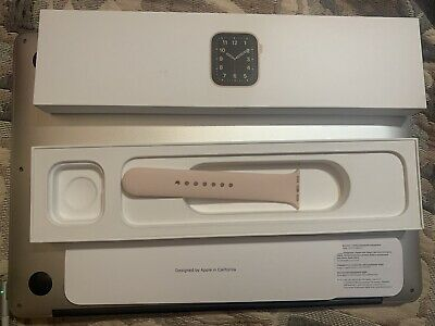 Apple Watch Series SE 40mm Box BOX ONLY Model A2353a2351 Gold Strap Band