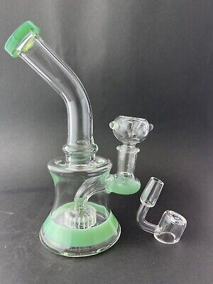 7 Best new Tobacco Hookah water bong pipe glass 14m bowl hand bubbler pipes