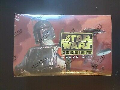 Star Wars CCG Cloud City Booster Box Display Sealed - Decipher