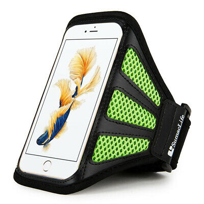 Sumaclife Mesh Workout Armband Case Cover For Apple iPhone 12 mini  SE 2nd 2020