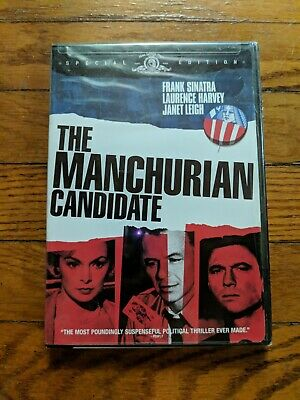 The Manchurian Candidate DVD 2004 Special Edition Frank Sinatra New Sealed