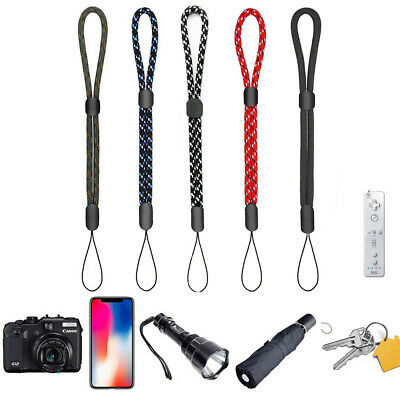 Adjustable Hand Wrist Strap Lanyard for Camera Cell Phone MP4 MP3 Keychain USB