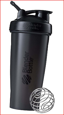 BlenderBottle Classic Shaker Bottle Perfect for Protein Shakes and Pre Workout