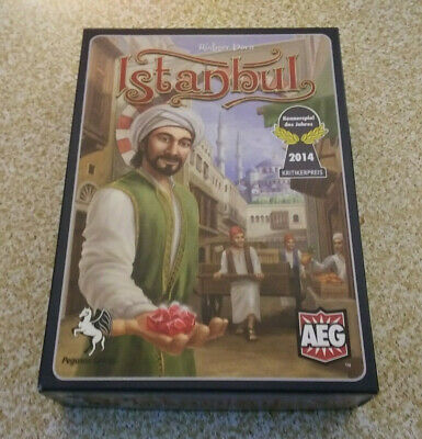 Istanbul Board Game AEG 2014 Pegssus Spiele Complete