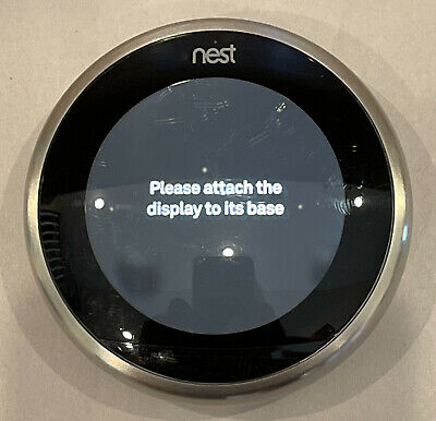 Nest 3rd Generation Programmable Thermostat A0013 NO BASE Unit Only-READ-FAST