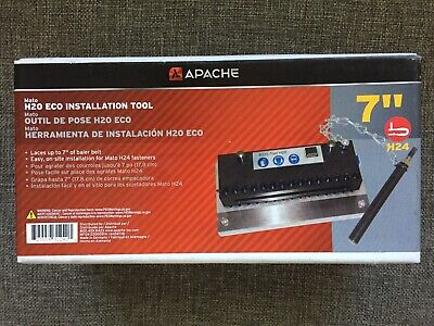 NEW - Apache MATO 7 Eco Installation Tool H20 H24 Baler Belt Lacer 180BS7