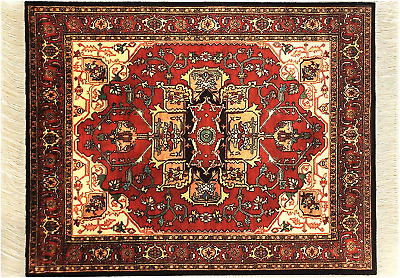 Oriental Rug Mouse Pad - Turkish Style Carpet Mousemat - Great Gift Pattern 1