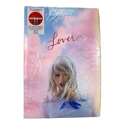 Taylor Swift Lover CD Deluxe Edition Version 3