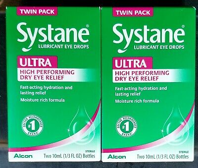 Systane Ultra High Performance Lubricant Eye Drops - 10 ml 2-TWO PACK4 bottles