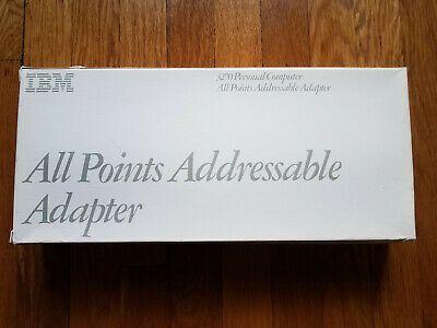 IBM APA All Points Addressable Adapter w Box and Manual 3270 1501208 2