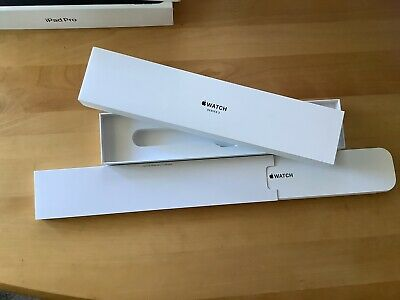 Box Only Apple Watch Series 3- Empty Box Original Packaging 38 mm