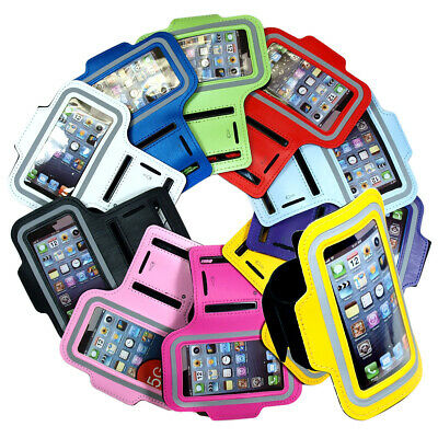 2 PCS Workout Running Sport Gym Armband Cases Covers For iPhone 5 5s Multi-Color