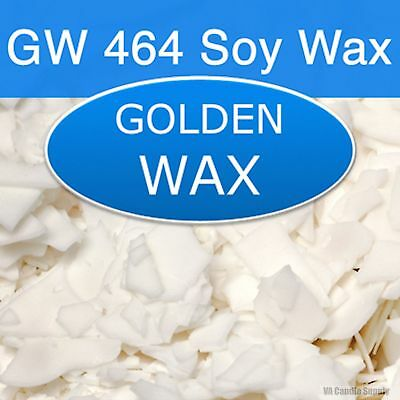 GW 464 SOY WAX FLAKES GREAT FOR CANDLES OR TARTS FREE SHIPPING