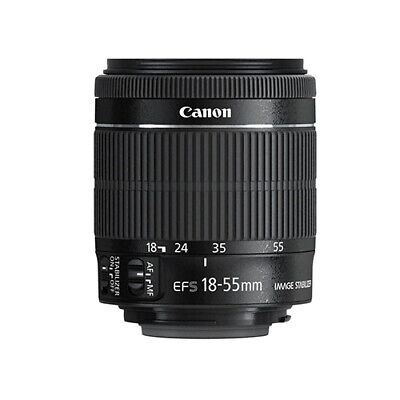 Canon EF-S 18-55mm 18-55  f3-5-5-6 IS STM Camera Lens Brand New