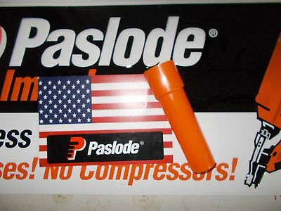Paslode Part  902550 Mini Cell Adaptor Obsolete Yellow Fuel Cell Finish Nailer