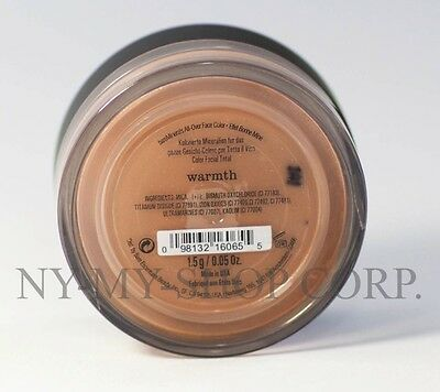 bareMinerals Bare Escentuals Warmth All-Over Face Color 1-5g - XL - NEW - SEALED