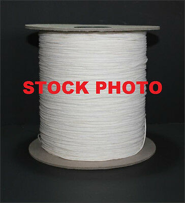 10 YARDS OF SQUARE BRAIDED COTTON CANDLE WICK 20 - SPOOL NOT INCLUDED