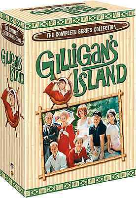 Gilligans Island The Complete Series Seasons 1 2 3 Boxed DVD Set NEW