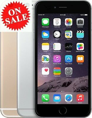 Apple iPhone 6 (Factory Unlocked) AT&T T-Mobile Verizon Space Gray Gold S Silver