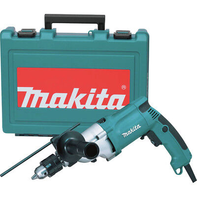 Makita 34 in- Variable-Speed Hammer Drill w Case HP2050R Certified Refurbished
