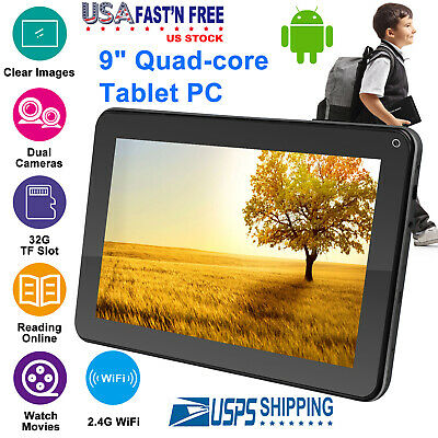 KOCASO® 9 Android 4-4 Tablet Quad Core 8GB Dual Camera WIFI 1-2GHz Bonus Gift