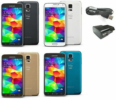 Samsung Galaxy S5 SM-G900V 16GB Verizon AT-T T-Mobile GSM UNLOCKED SmartPhone SR