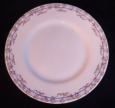 W S George Derwood 174A Luncheon Plate Simply Gorgeous - Elegant Collectible