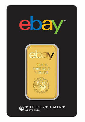 eBay - Perth Mint 1oz Gold Bar -9999 Fine in Assay
