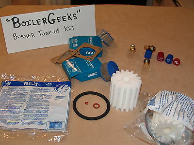 OIL BURNER TUNE-UP KIT 1 of each-Nozzle  Fuel Oil Filter  Strainer Screen