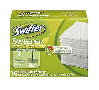 Swiffer Sweeper Dry Sweeping Cloths 16 ea
