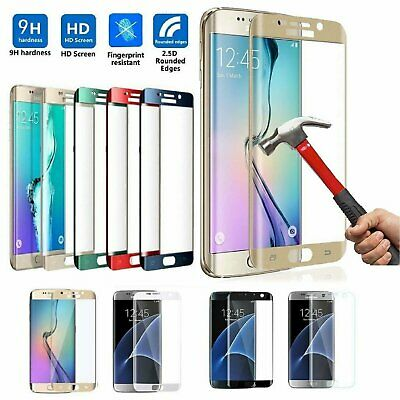 Full Cover Tempered Glass  Screen Protector for Samsung Galaxy S7 Edge  S7