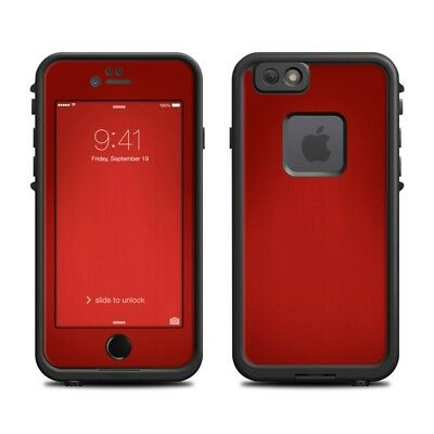 Skin for LifeProof FRE iPhone 66S - Red Burst - Sticker Decal