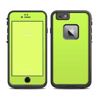 Skin for LifeProof FRE iPhone 6 Plus - Solid Lime - Sticker Decal