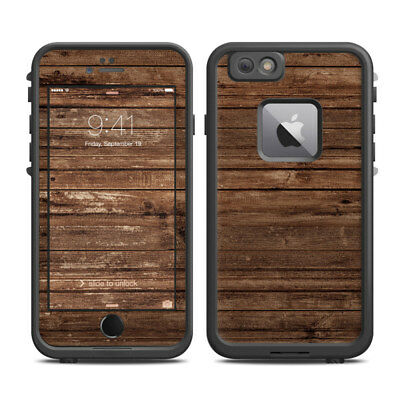 Skin for LifeProof FRE iPhone 6 Plus - Stripped Wood - Sticker Decal