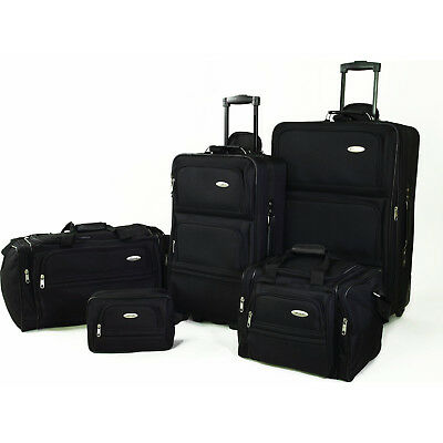 Samsonite 5 Piece Nested Luggage Suitcase Set - 25 Inch 20 Inch - More