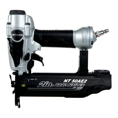 Hitachi 18-Gauge 2 Finish Brad Nailer Kit NT50AE2 Reconditioned