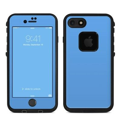 Skin for LifeProof FRE iPhone 7 - Solid Blue - Sticker Decal