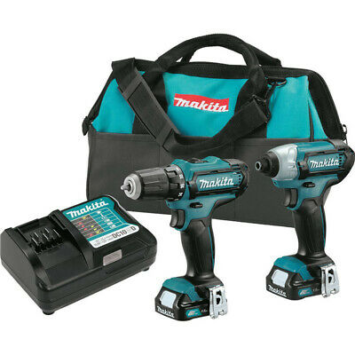 Makita CXT 12V 14 Impact - 38 Drill Driver Kit CT226-R Certified Refurbished