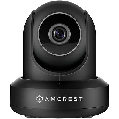 Amcrest IP2M-841 ProHD 1080P 1920TVL 30FPS Wireless WiFi IP Camera - Black