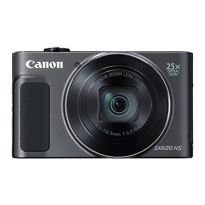 Canon PowerShot SX620 HS 20-2MP Digital Camera 25x Optical Zoom WiFi  NFC Black