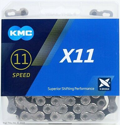 KMC X11-93 11-Speed Stretch-Proof Bike Chain 118L fits Campagnolo SRAM Shimano