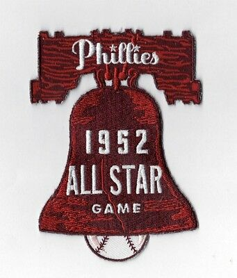 1952 MLB All Star Game Patch in Philadelphia Phillies Baseball Team Vintage