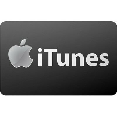 iTunes 100 Gift Card for Only 94 Free Shipping Pre-Owned Paper Card