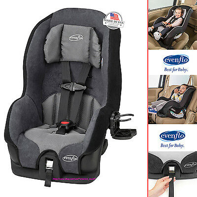 Baby Car Seat Convertible Infant Toddler Safety Booster Kids Safe Travel Evenflо